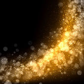 Oro astratto sfondo chiaro — Foto Stock