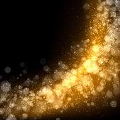 Zlatá abstraktní světlé pozadí — Stock fotografie
