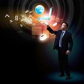 Nowoczesne technologie w biznesie — Zdjęcie stockowe