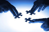 Puzzleteile — Stockfoto
