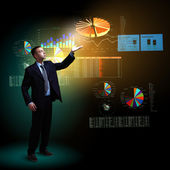 Modern doing business concept — Stock Photo