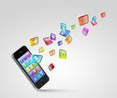 Modern technology media — Stock Photo
