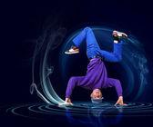 Modern style dancer — Stock Photo
