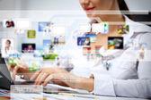 Tecnologías de negocios hoy — Foto de Stock