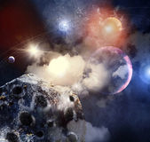 Image of planets in space — Stock Photo