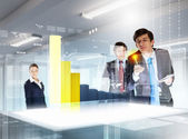 Business and innovation technologies — Stock Photo