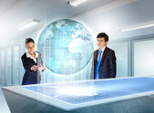 Business and communication innovations — Stock Photo