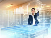 Technologie výstavby a inovace — Stock fotografie