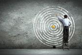 Podejmowanie decyzji biznesowych — Zdjęcie stockowe
