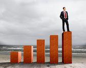 успех в бизнесе — Стоковое фото