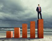 Zakelijk succes — Stockfoto