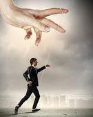 Business man mariniert — Stockfoto
