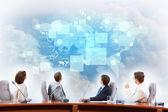 Business presentation — Стоковое фото