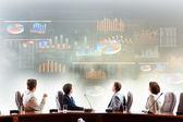 Firmenpräsentation — Stockfoto