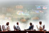 Firemní prezentace — Stock fotografie