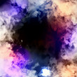 Cosmic clouds of mist - Stock Photo