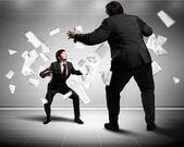 Disputa de negocios — Foto de Stock