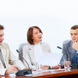 Four businesspeople at meeting — Stock Photo #21242023