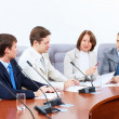 Four businesspeople at meeting — Stock Photo #21242031