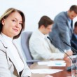 Four businesspeople at meeting — Stock Photo #21242325