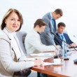 Four businesspeople at meeting — Stock Photo #21242331