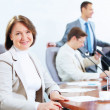 Four businesspeople at meeting — Stock Photo #21242355