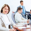Four businesspeople at meeting — Stock Photo #21242379