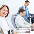 Four businesspeople at meeting — Stock Photo #21242381