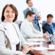 Four businesspeople at meeting — Stock Photo #21242399