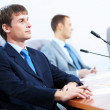 Three businesspeople at meeting — Stock Photo #21242785