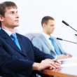 Three businesspeople at meeting — Stock Photo #21242801