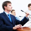 Three businesspeople at meeting — Stock Photo #21242805
