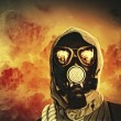 Min gas mask — Stock Photo #26314843