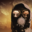 Man in gas mask — Stock Photo #26314849