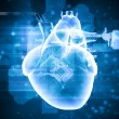 Human heart beats — Stock Photo #26321951