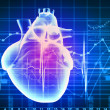 Human heart beats — Stock Photo #26322047