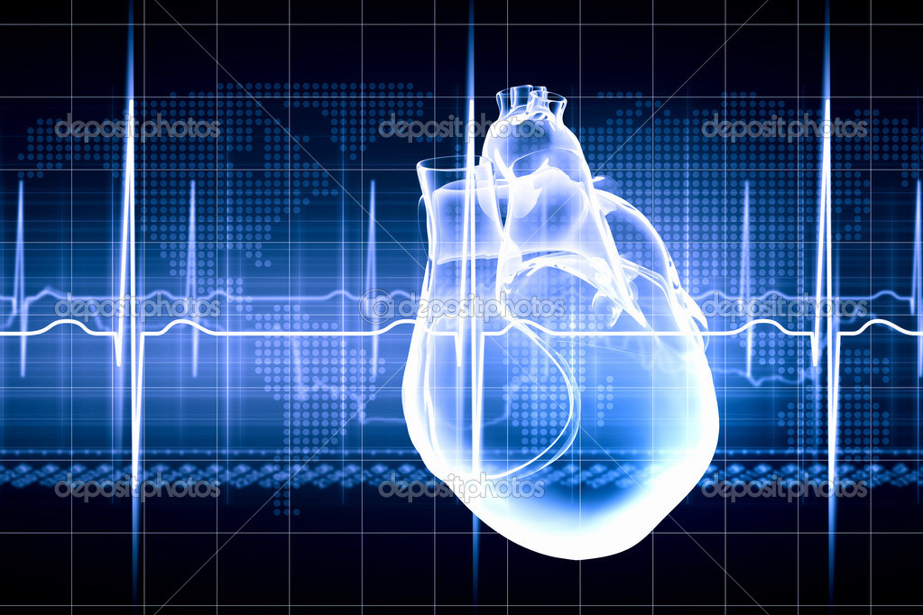 Human heart beats — Stock Photo © SergeyNivens #26321823