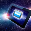 Great tablet with a Start button — Stock Photo #26351499