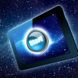 Great tablet with a Start button — Stock Photo #26351505