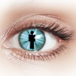 Close-up of woman's eye — Stock Photo