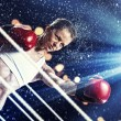 Young boxer woman — Stock Photo #26409731
