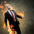 Businessman in anger — Stock Photo #26423751