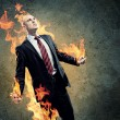 Businessman in anger — Stock Photo #26423819