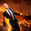 Businessman in anger — Stock Photo #26423919