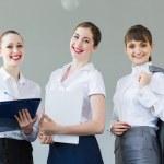 Three young businesswomen — Stock Photo #29012775