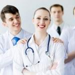 Successful female doctor — Stock Photo #29059585