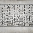 Abstract maze — Stock Photo