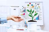Inkomen concept — Stockfoto