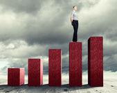 Successo aziendale — Foto Stock