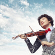 Young mviolinist — Stock Photo #29260239